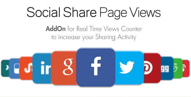 Social Share Page Views AddOn - WordPress - 4