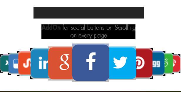 Complemento da barra superior do Social Share - WordPress - 4