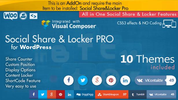 Complemento da barra superior do Social Share - WordPress - 5