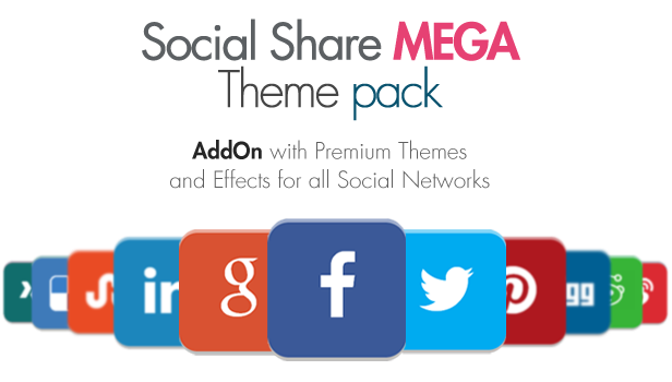 Social Share Mega Theme Pack - WordPress 4